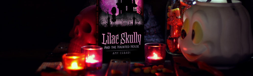 Lilac Skully and the Haunted House - the first book in an awesome and spooky middle grade series.