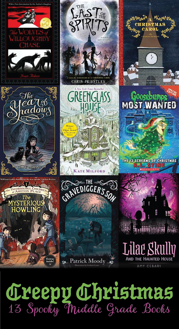 13 creepy middle grade books to read this Christmas