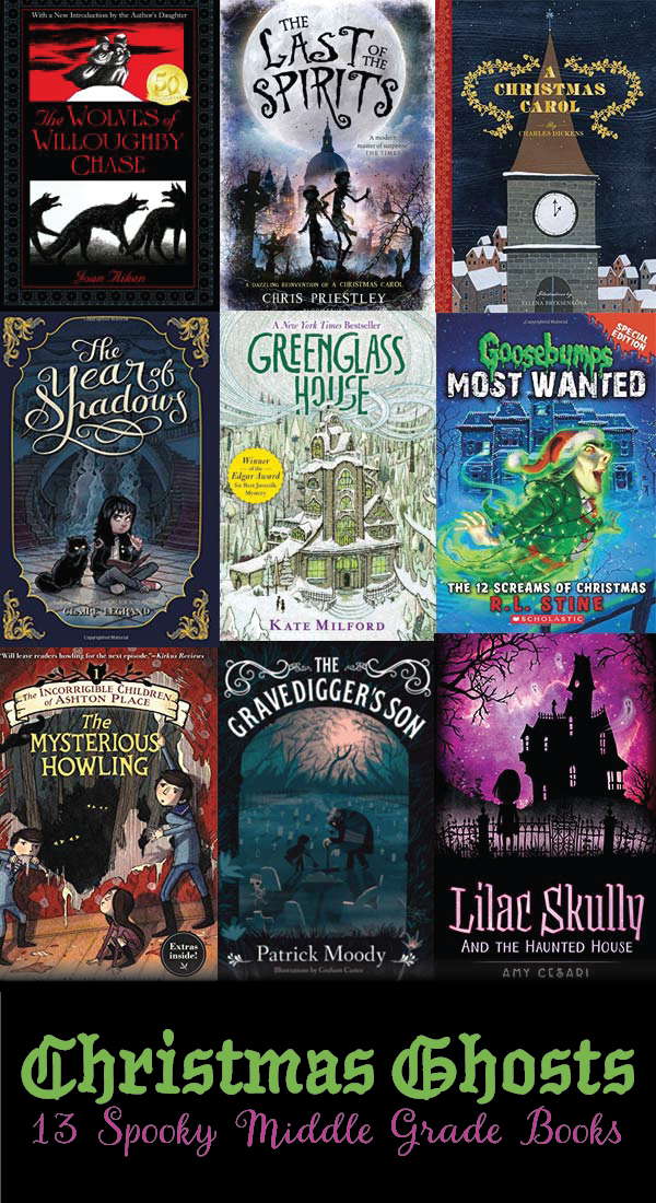 13 spooky middle grade books to read this Christmas